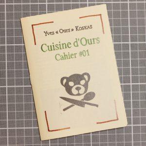 Cuisine d'Ours Cahier #01 Couverture