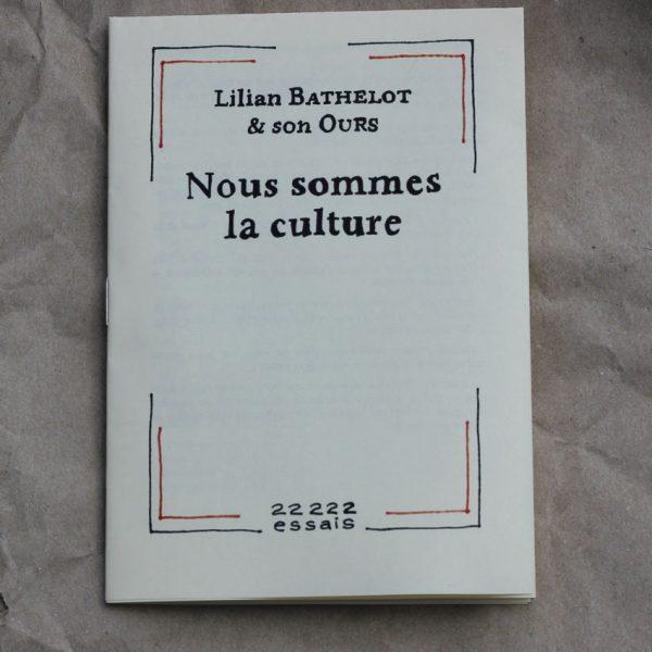 Nous sommes la culture