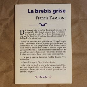 La Brebis Grise Francis Zampopni